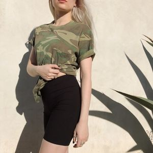 • vintage camo shirt •